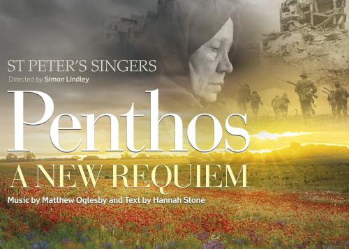 Penthos Requiem world premiere performance Saturday 27 October at 6pm in St Michael's Church, Headingley
