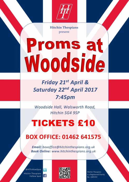Hitchin Thespians' Proms at Woodside