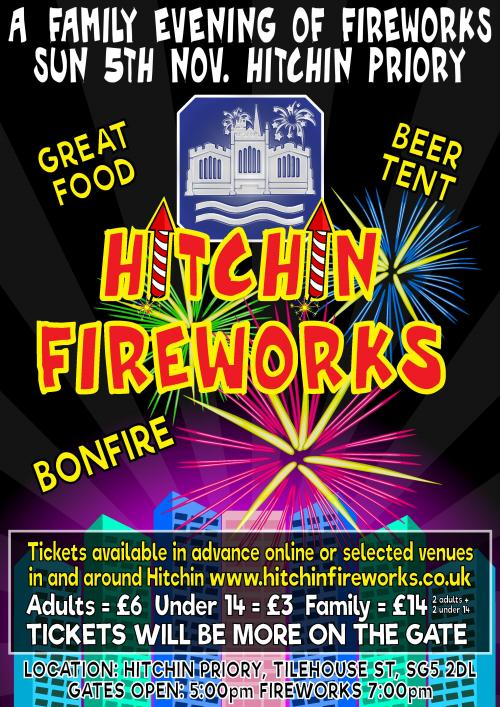 Hitchin Fireworks