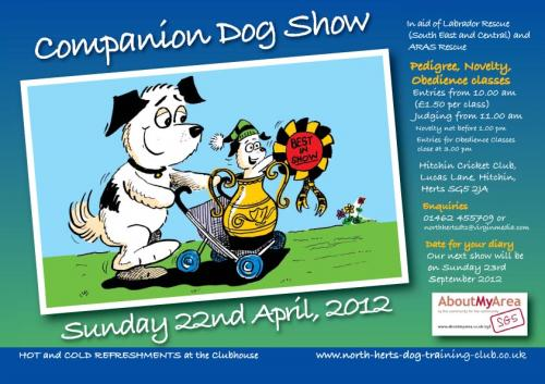Companion Dog Show, Hitchin