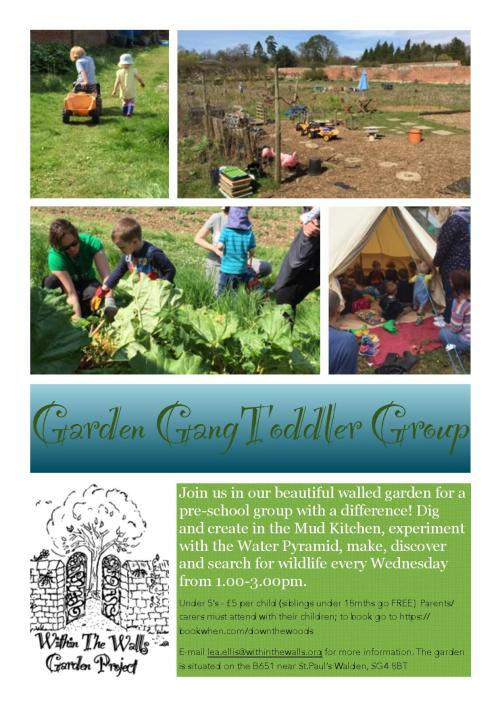 Garden Gang Toddler Group
