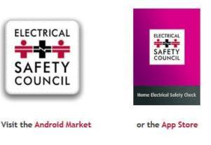 App portals from the Electrical Safety Council