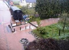 water levels rising at Williton Station