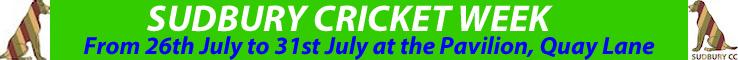 Sudbury Cricket Week