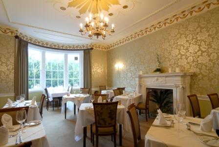 Donington Manor New Dining Room