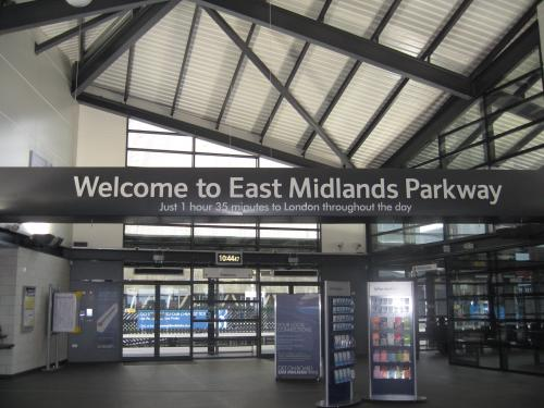 East Midlands Parkway station interior