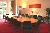 A dbs managed offices meeting room in Castle Donington