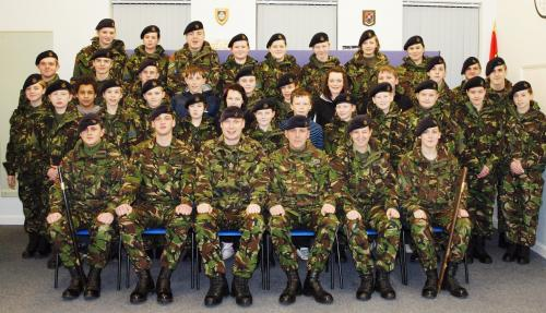 Castle Donington Army Cadet Force F Squadron