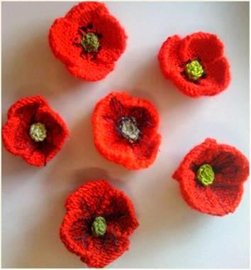 Awesome Crochet Poppy Pattern Composition - Knitting Pattern Ideas ...