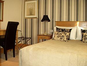 A Church View Hotel bedroom in Castle Donington