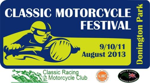 Classic Motorcycle Festival at Donington Park