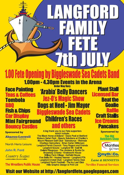 Langford Family Fete