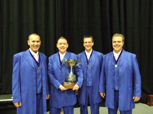 2009 BABS Gold Medal Quartet Evolution