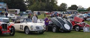 Family Fun at Knebworth Classic Car Show on Bank Holiday Weekend.