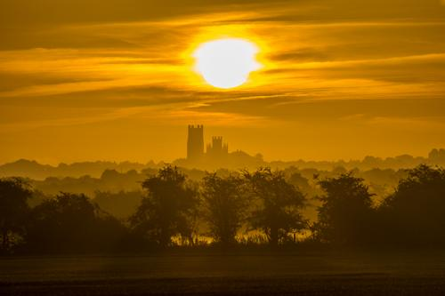 Sunrise Over Ely Cathedral