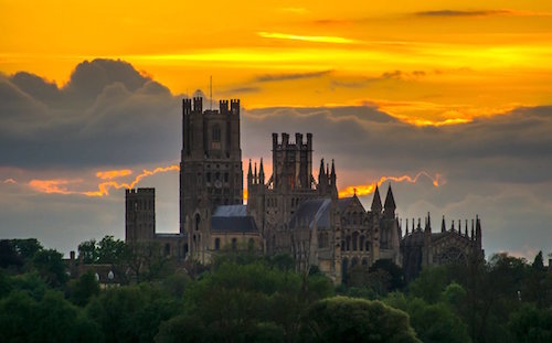 Sunset Over Ely Cathedral