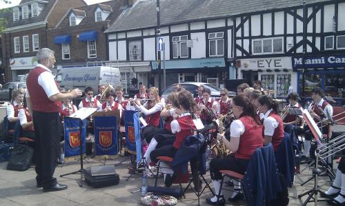 The Freudenberg Music Association's Youth Orchestra perform in Hoddesdon