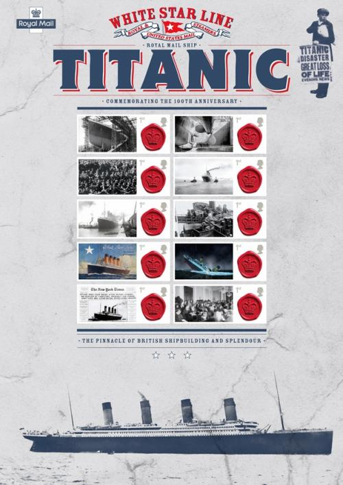 Royal Mail - Titanic Commeration Stamps