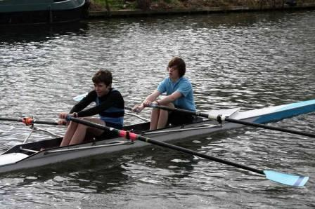 Mitchell and Tynan in their J15 double
