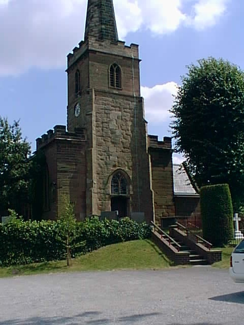 St. Giles Church, Whittington