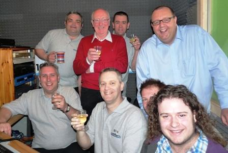 The launch of Rossendale Radio in May 2010