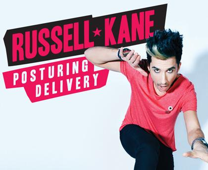 Star of BBC3's Britain Unzipped and Live at the Electric Russell Kane brings his brand new show 'Posturing Delivery' to Hull on Wednesday October 31st 8pm, as part of the Comedy Festival. Described by Time Out as 'extremely funny, poigant and fuelled by real intelligence and passion' and 'a seriously good comedian' by the Times.