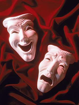 Image of Comedy & Tragedy Theatre Masks