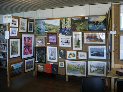 Photograph of the Spectrum Art Exhibition at the Floral Hall in 2010