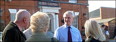 On Saturday 9th June Graham Stuart, MP for Beverley and Holderness, will be holding a Street Surgery in Hedon, weather permitting. The outdoor surgery will take place between 10:30am and midday at the Market Place.