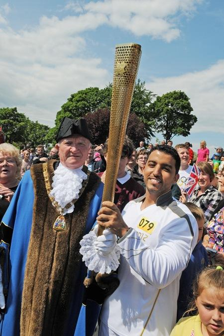 It has been two historic days for the East Riding, as thousands of people lined the streets of Bridlington, Beverley, Brough and Goole to witness the Olympic Torch's arrival in the area.