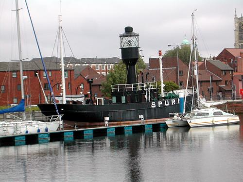 Spurn Lightship - One of Hull Museums