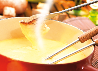 A Fondue Savoyarde - French Alpine Food