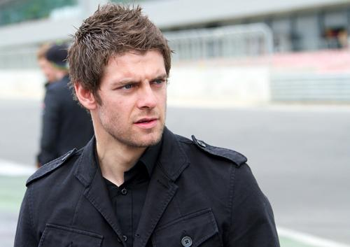 Cal Crutchlow at the opening of the Silverstone Wing last year