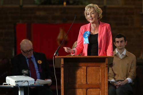 Andrea Leadsom MP - at Towcester Hustings earlier this week