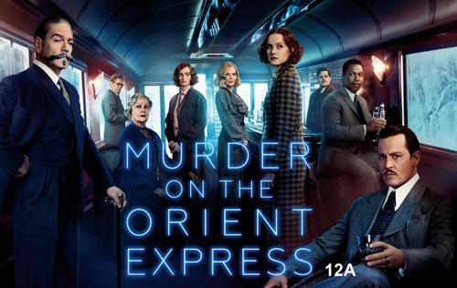Stoke Bruerne Community Film Club's film for Thursday 19th April 2018 at 8pm is Murder on the Orient Express (PG13). The venue is The Navigation pub (rear bar) in Stoke Bruerne.