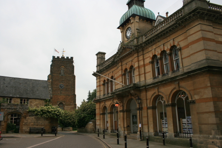 Town Hall, Chantry and Church