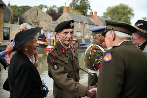 Village at War Weekend from 10am-5pm on  Saturday 8th and Sunday 9th September 2018 (also evening entertainment on Friday 7th & Saturday 9th September) at Stoke Bruerne, Northamptonshire, NN12 7SE – a stunning canalside village with the Grand Union Canal flowing through the centre.