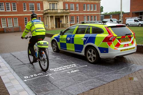 Northamptonshire Police is launching a road safety initiative to promote mutual respect and safer behaviour by all road users.