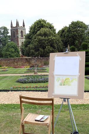 Inspiring Art Classes Next Week at Canons Ashby