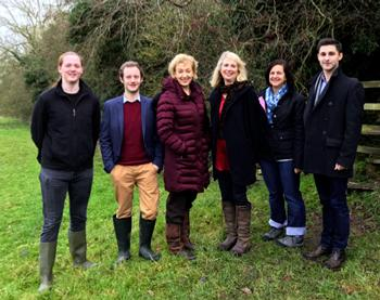Rt Hon Andrea Leadsom MP for South Northamptonshire and her team