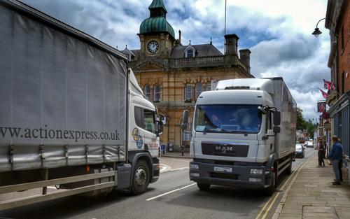 Measures will still be needed after a relief road is completed to keep HGVs out of Towcester