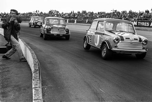 Minis have always been fans favourites at Silverstone.