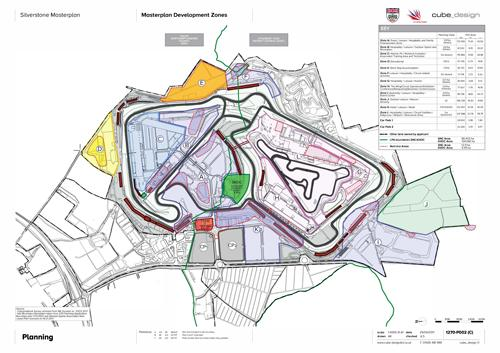 The Silverstone Masterplan is a revised version of a plan that was originally approved in 2012 and is the next big step towards securing the long-term future of the international venue which is owned by the British Racing Drivers' Club (BRDC).