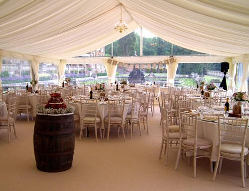 DJ Marquees design and tailor the set-up around your requirements and budget, ensuring they cater for all aspects of your special day.