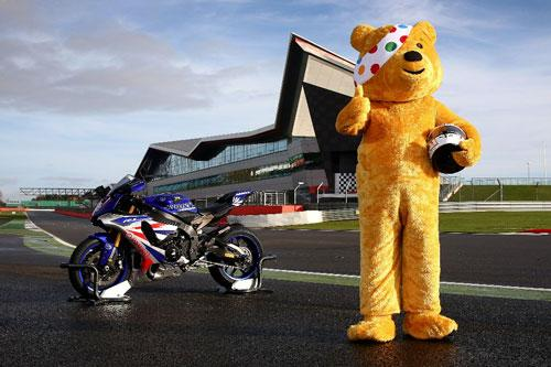 British MotoGP™ donates £1,786 to the BBC Children In Need Appeal