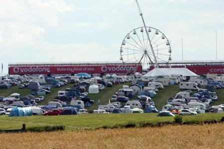 Trap tents for Grand Prix