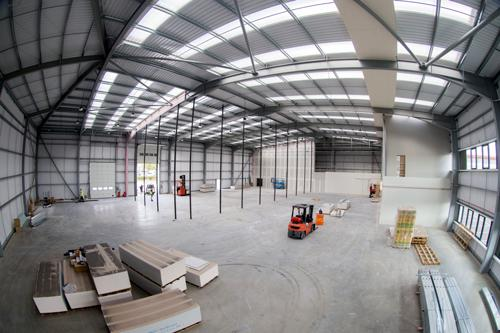 Work to fit out TotalSim's new 26,000 sq ft Silverstone Sports Engineering Hub at Silverstone Park is well under way.