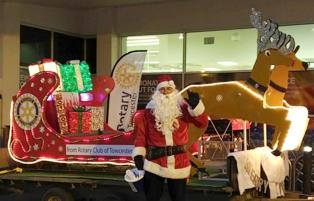 The Rotary Santa of Towcester