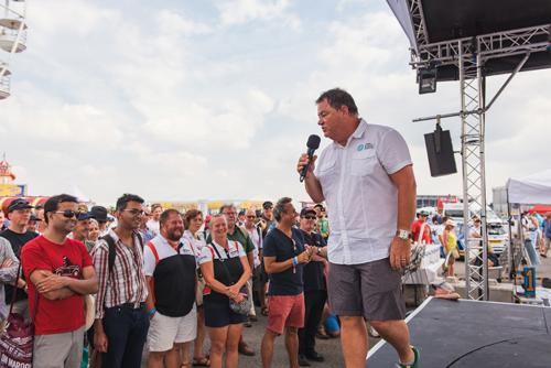 Much-loved TV personality and well-respected motoring mastermind Mike Brewer will be back with his crowd-pleasing Car Clinics at the 2019 Silverstone Classic festival (26-28 July 2019).
