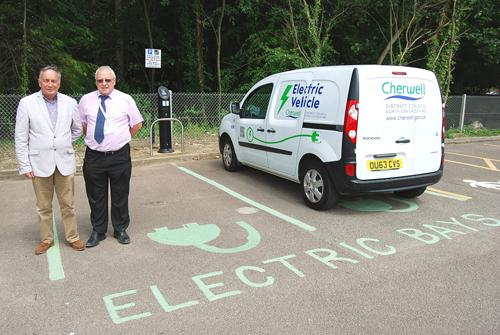 Residents are being asked to have their say on the location of new on-street electric vehicle charging points which are being installed across Northamptonshire.
